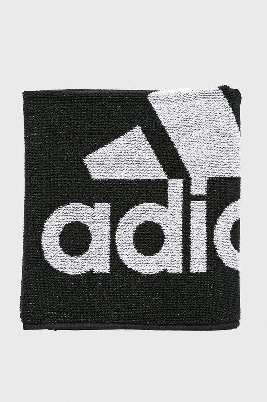 czarny adidas Performance - Ręcznik kąpielowy Męski