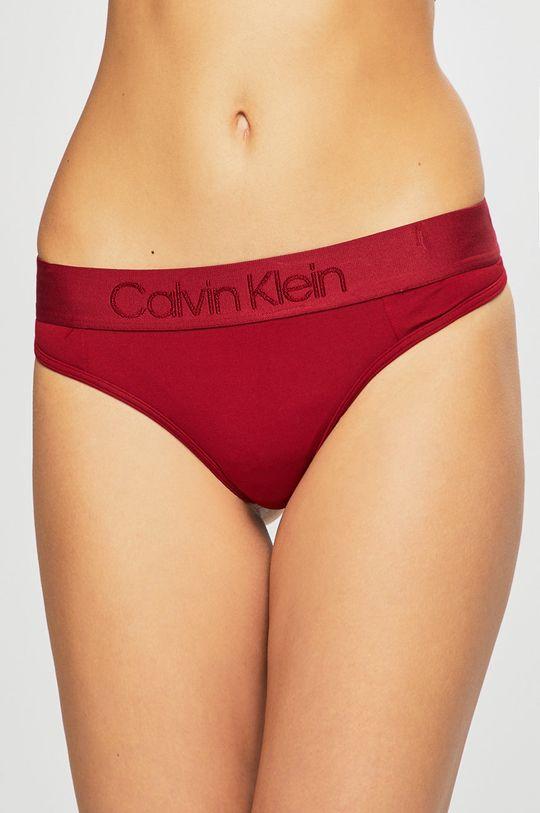 kaštanová Calvin Klein Underwear - Kalhotky Dámský