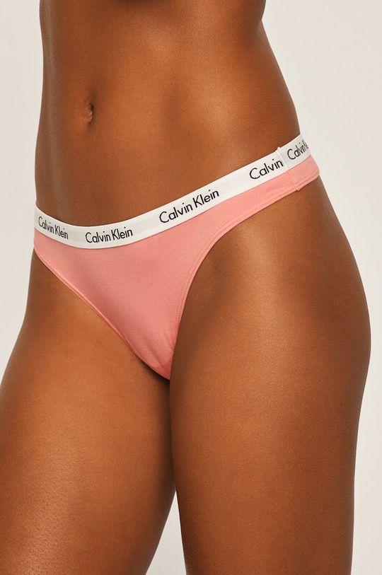viacfarebná Calvin Klein Underwear - Tangá (3-pak) Dámsky