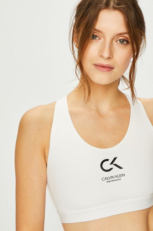 biały Calvin Klein Performance - Biustonosz