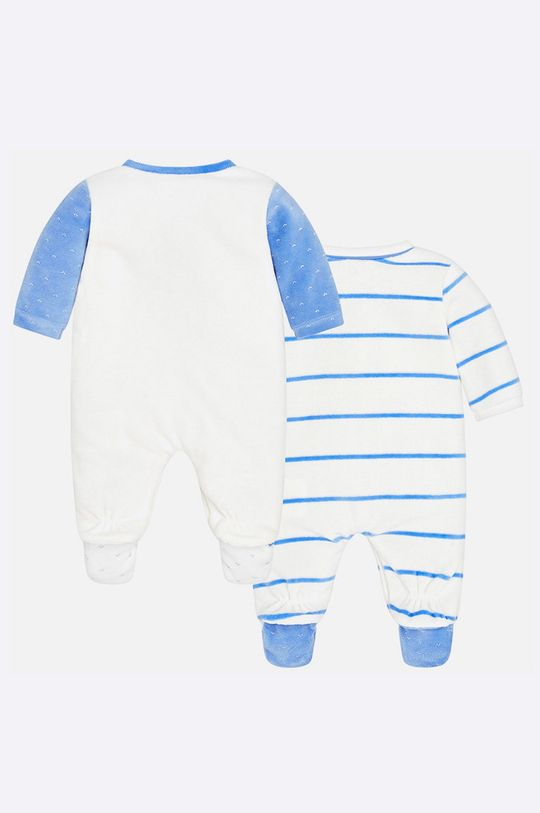 Mayoral - Бебешки гащеризон за бебе 55-75 cm (2-бройки) бял