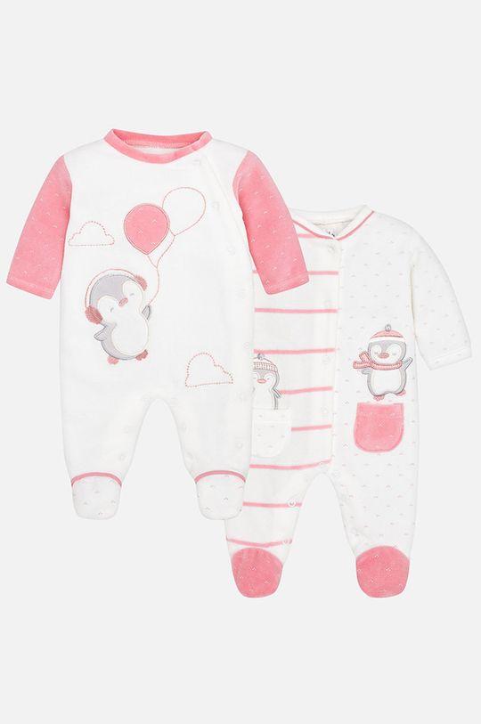 розов Mayoral - Бебешки гащеризон за бебе 55-75 cm (2-бройки) Дитячий