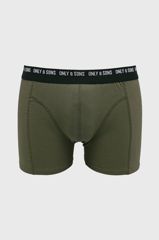 Only & Sons - Bokserki (3-pack) czarny
