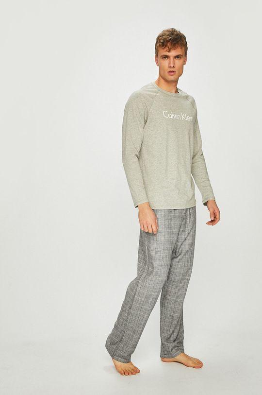 šedá Calvin Klein Underwear - Pyžamo Pánský
