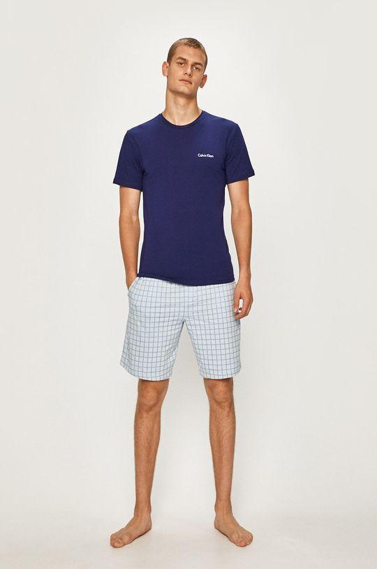 fialová Calvin Klein Underwear - Pyžamo Pánský