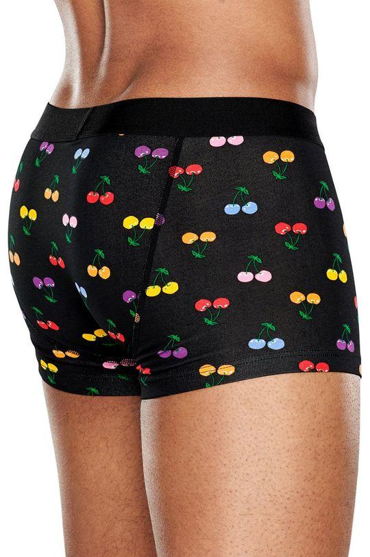 Happy Socks - Boxerky Cherry černá