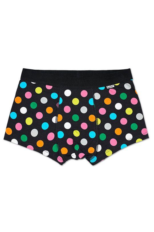 Happy Socks - Bokserki Big Dot (2-pak) czarny