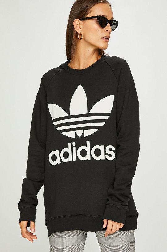 черен adidas Originals - Суичър
