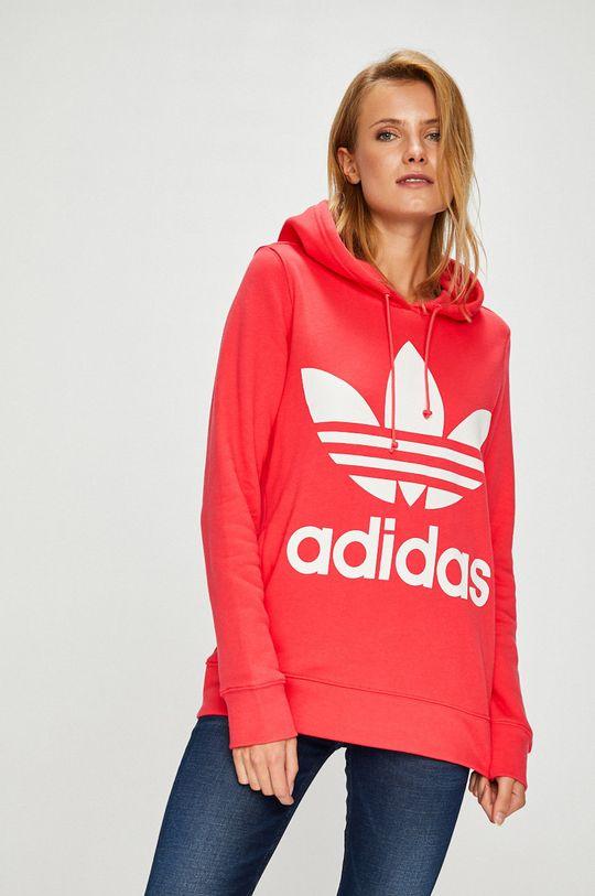 коралов adidas Originals - Суичър Жіночий