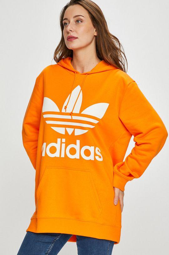 оранжев adidas Originals - Суичър Жіночий