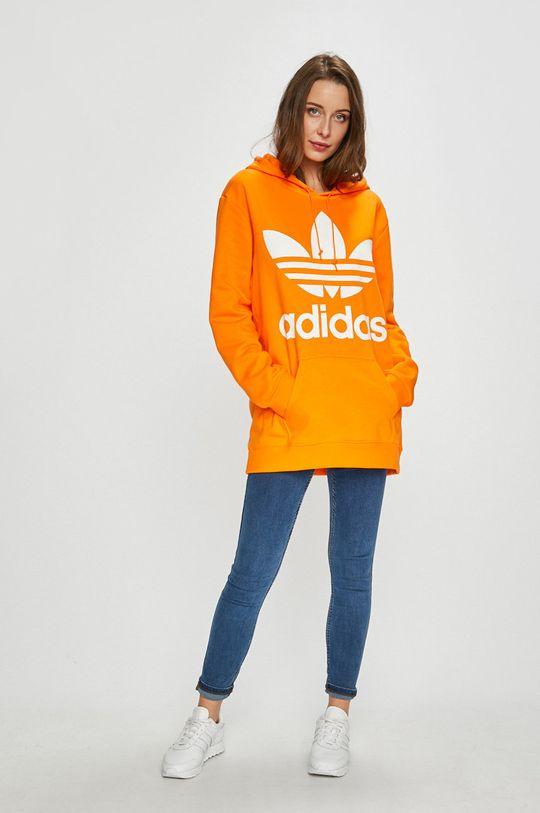 adidas Originals - Суичър оранжев