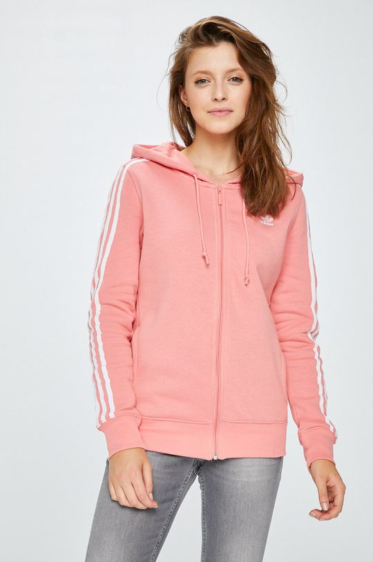 roz adidas Originals - Bluza De femei