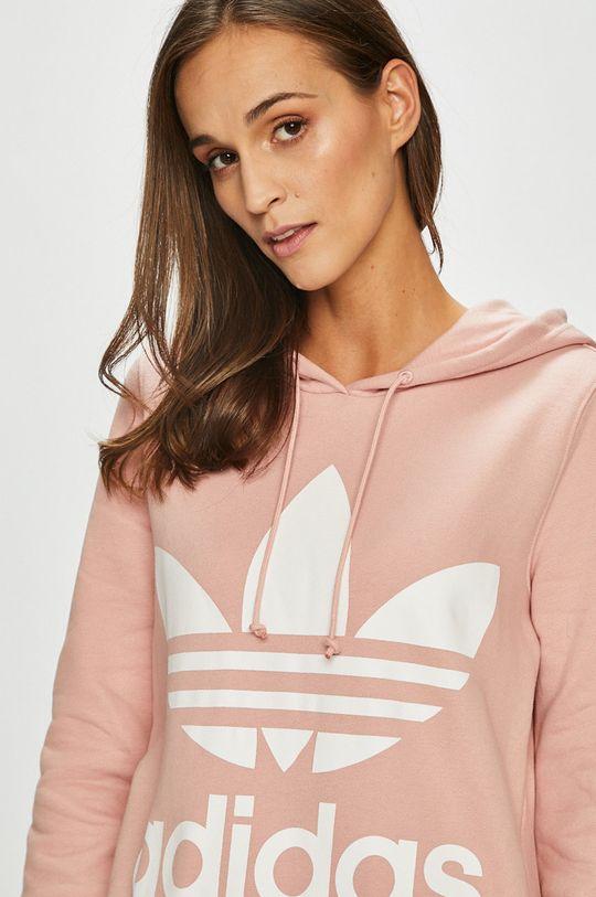 розов adidas Originals - Суичър