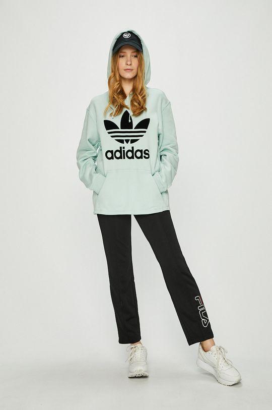 adidas Originals - Суичър бледозелен