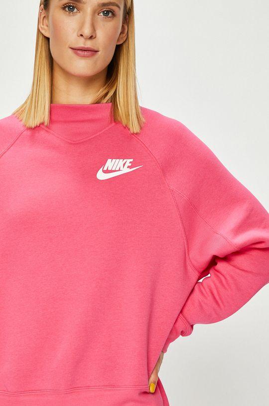 ostrá růžová Nike Sportswear - Mikina