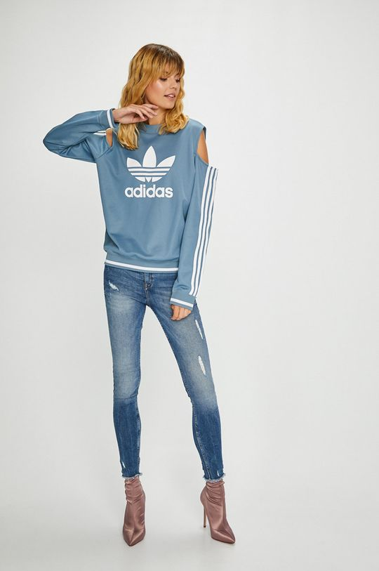 adidas Originals - Суичър светлосин