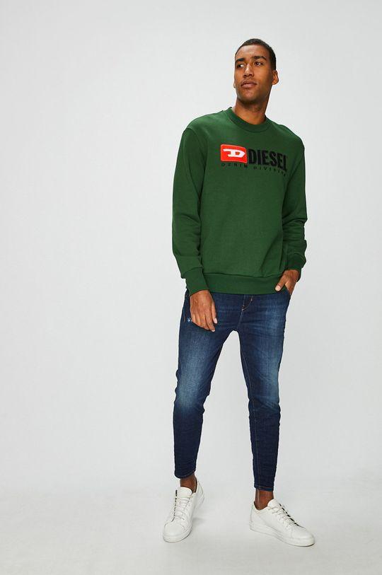 Diesel - Bluza verde