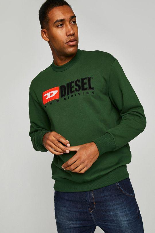 zelená Diesel - Mikina