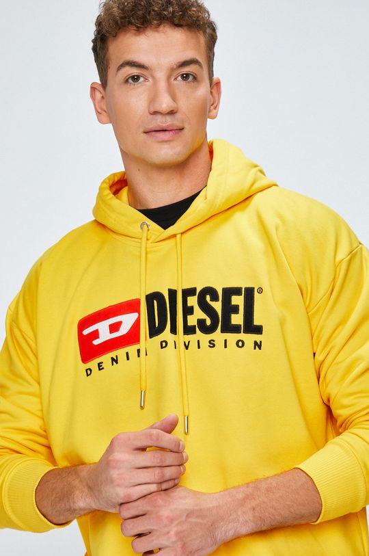 žlutá Diesel - Mikina