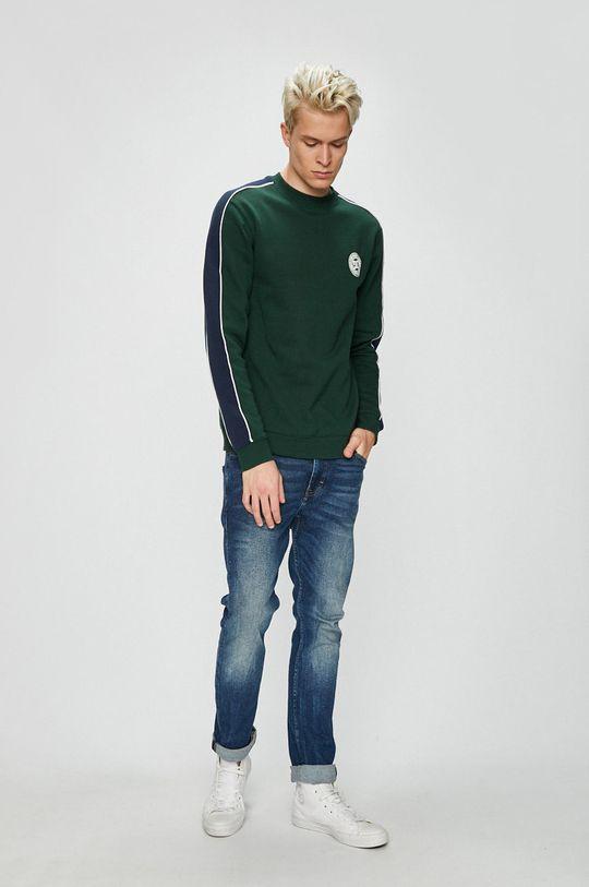 DC - Bluza verde maro