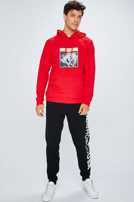 DC - Bluza rosu
