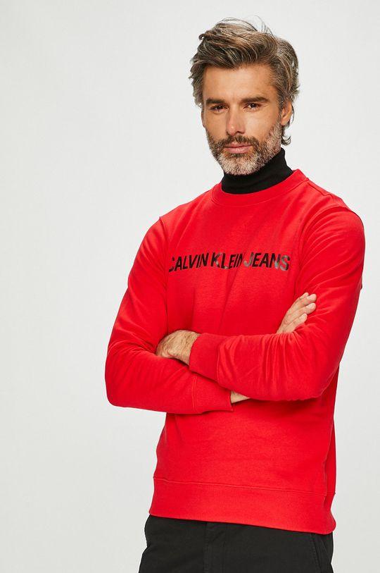 rosu Calvin Klein Jeans - Bluza De bărbați
