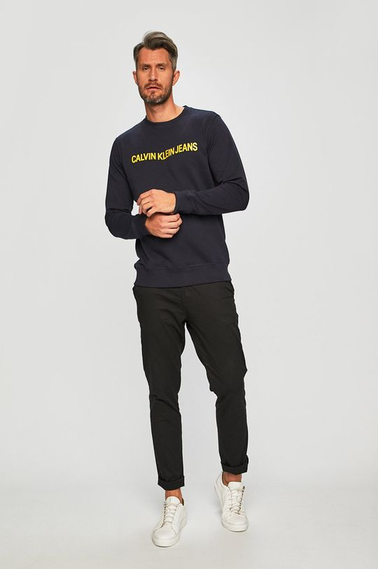 Calvin Klein Jeans - Bluza bleumarin
