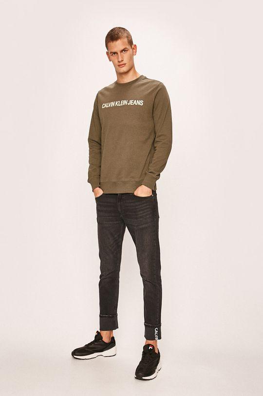 Calvin Klein Jeans - Bluza verde