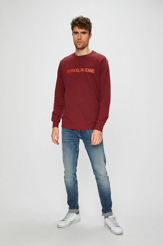 Calvin Klein Jeans - Bluza castan