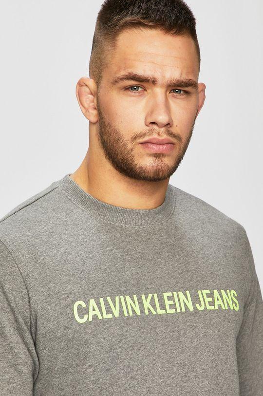 gri Calvin Klein Jeans - Bluza