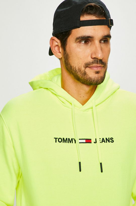 Tommy Jeans - Кофта світло-жовтий
