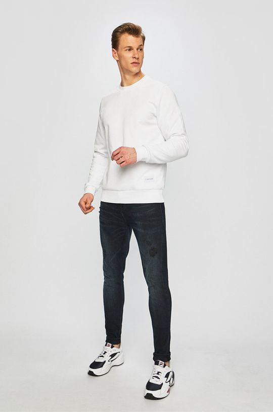 Calvin Klein - Bluza alb