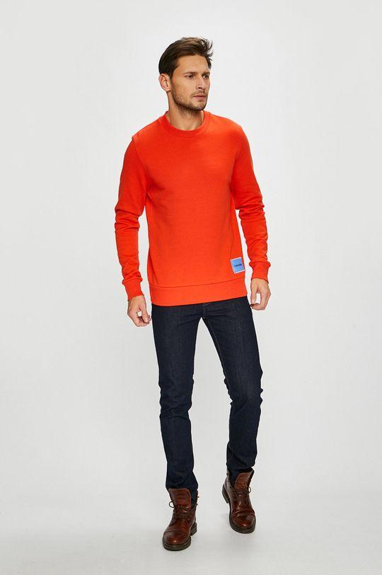 Calvin Klein - Кофта помаранчевий