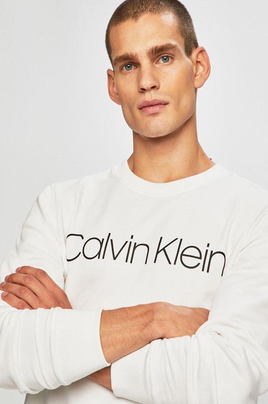 bílá Calvin Klein - Mikina Pánský