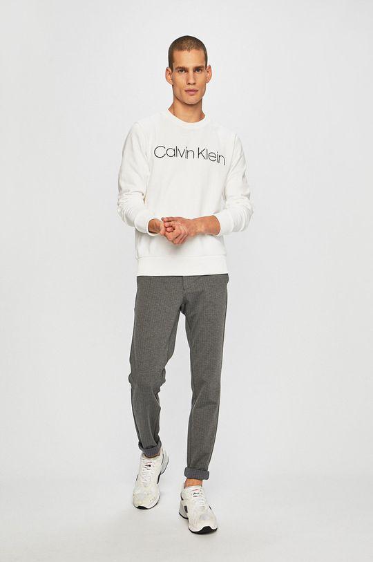 Calvin Klein - Mikina bílá