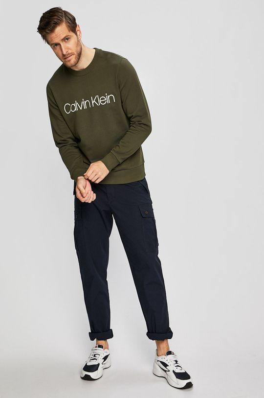 Calvin Klein - Mikina khaki