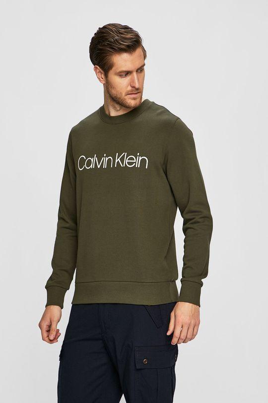 khaki Calvin Klein - Mikina