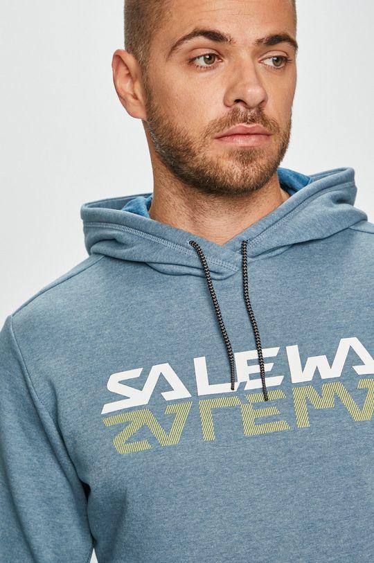 modrá Salewa - Mikina