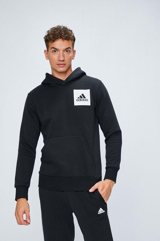 черен adidas Performance - Суичър Чоловічий