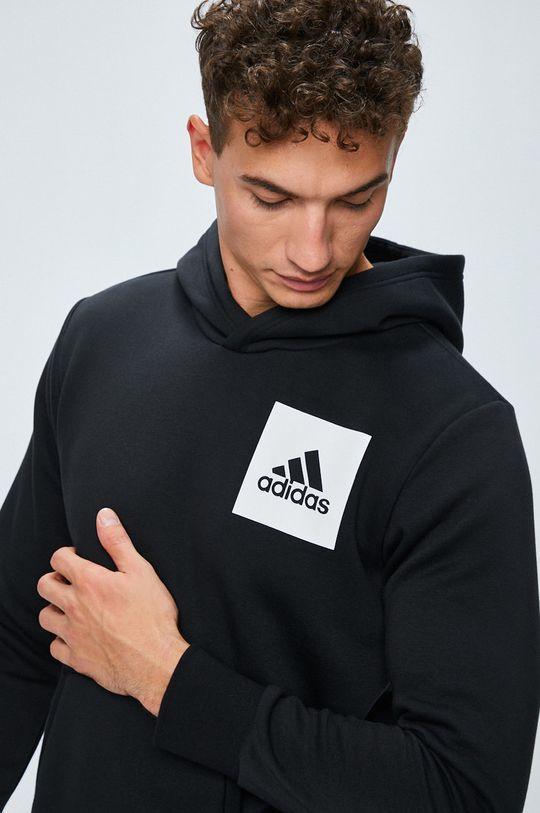 черен adidas Performance - Суичър
