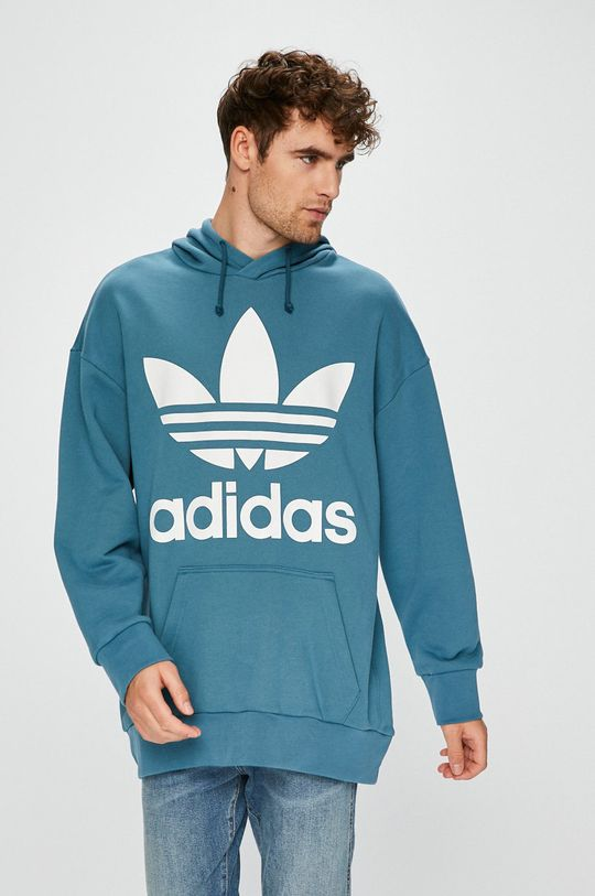 turcoaz adidas Originals - Bluza De bărbați