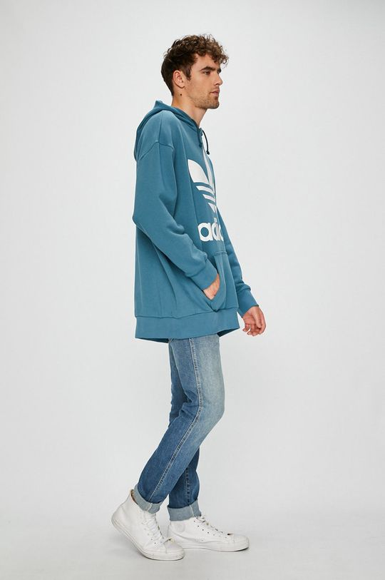 adidas Originals - Bluza turcoaz