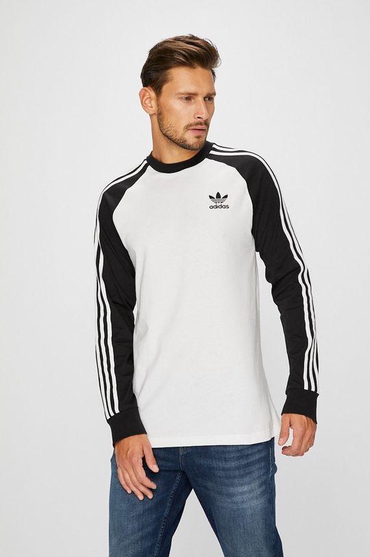 бял adidas Originals - Суичър Чоловічий