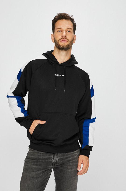 черен adidas Originals - Суичър Чоловічий
