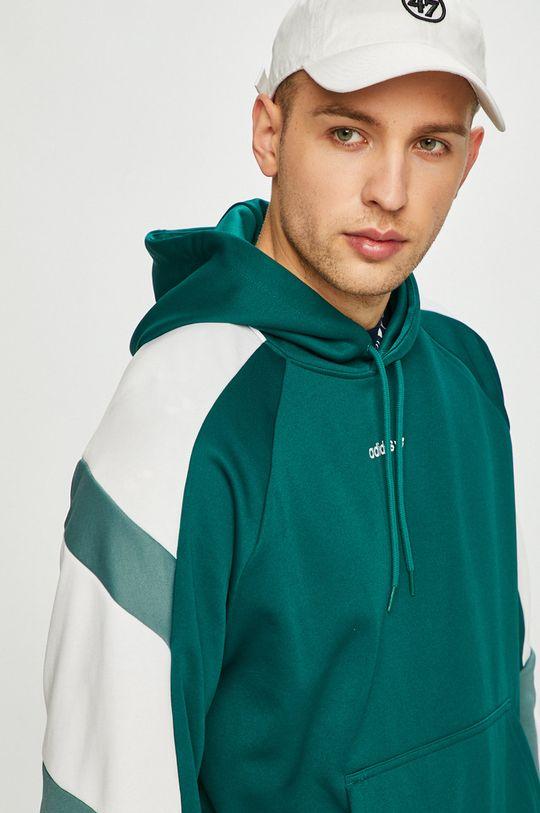зелено-син adidas Originals - Суичър