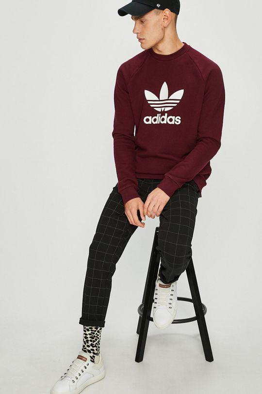 adidas Originals - Суичър кестен