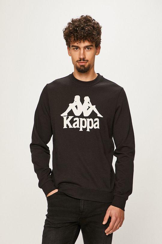 černá Kappa - Mikina Pánský