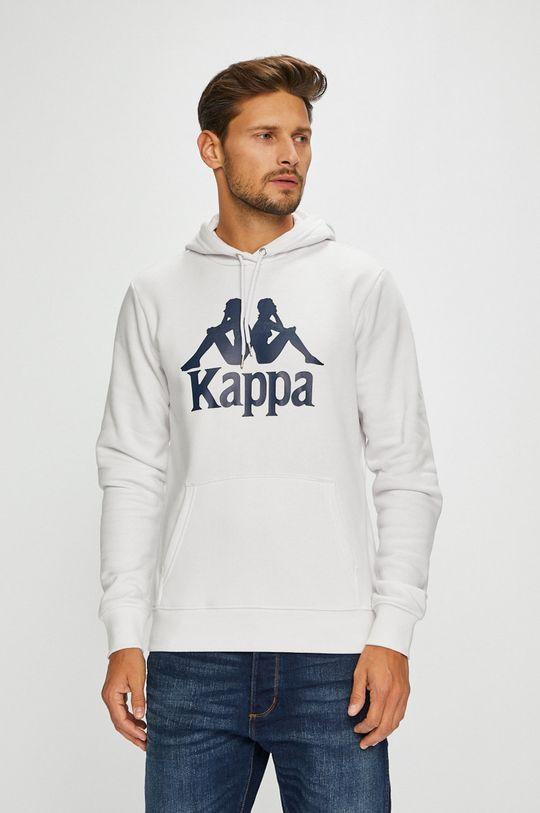 biały Kappa - Bluza Męski