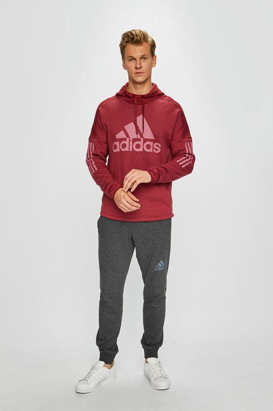 adidas Performance - Суичър  Основен материал: 70% Памук, 30% Полиестер Подплата на качулката: 100% Памук