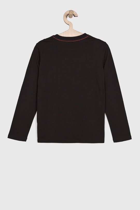 Guess Jeans - Detské tričko s dlhým rukávom 118-175 cm čierna